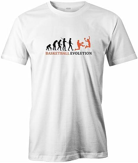 93de8061da2f Jayess Basket-Ball Evolution - T-Shirt pour Homme - Blanc - XXX-Large:  Amazon.fr: Vêtements et accessoires