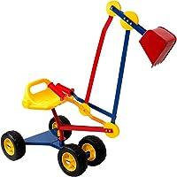 Kids Sit On Mini Digger Excavator for Sandpit Toy Outdoor Children's Power Shovel