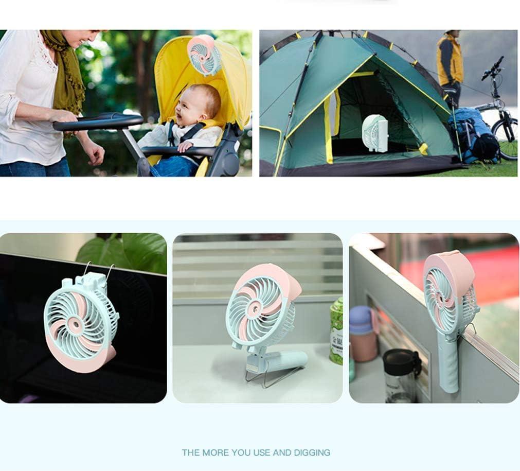 with Spray Effect + Send Charging Head BBFZ 1pcs USB Charging Mini Electric Fan Black,11.5cm4.9cm26.3cm