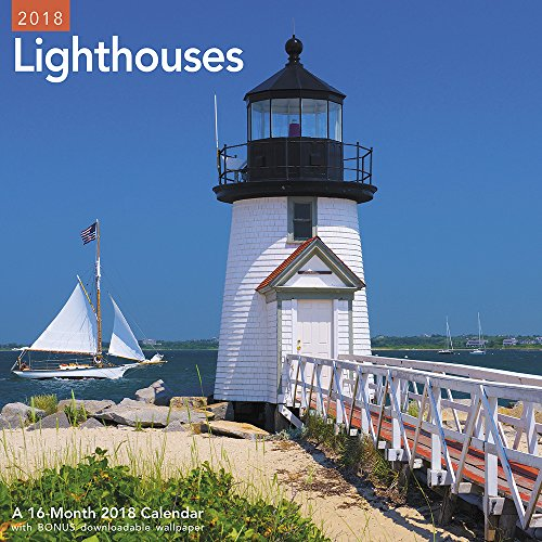 2018 Lighthouses Wall Calendar (Mead)