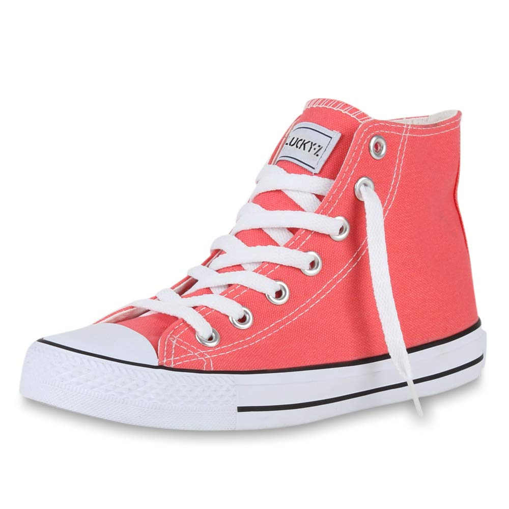 Schuhe VITA VITA Schuhe Unisex Damen Herren Sneaker High Übergrößen Coral e412cd