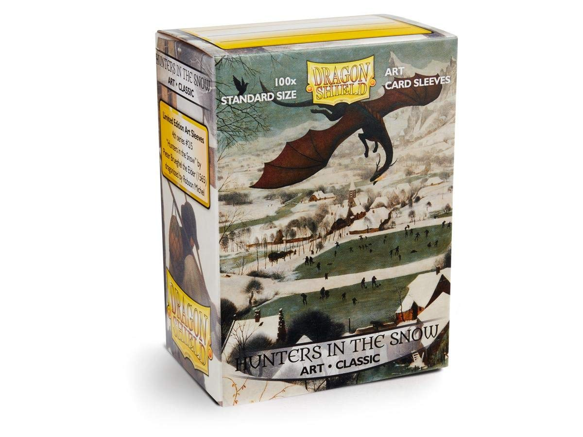 Box of 100 Sleeves Standard AT-12015 Arcane Tinman Dragon Shield: Limited Edition Art: Hunters in The Snow Art: Hunters in The Snow