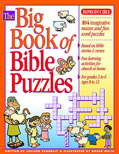 The Big Book of Bible Puzzles (Big Books)