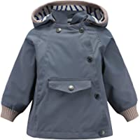 ACESTAR Waterproof Rain Jacket Coat Windbreaker,Spring Fall Lightweight Windproof Raincoat for Boys Girls Outwear