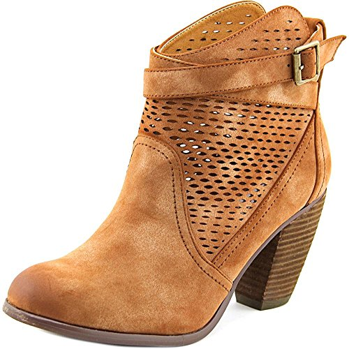 Not Rated Women's Macy Ankle Bootie, Tan, 9.5 M - Woman Macy