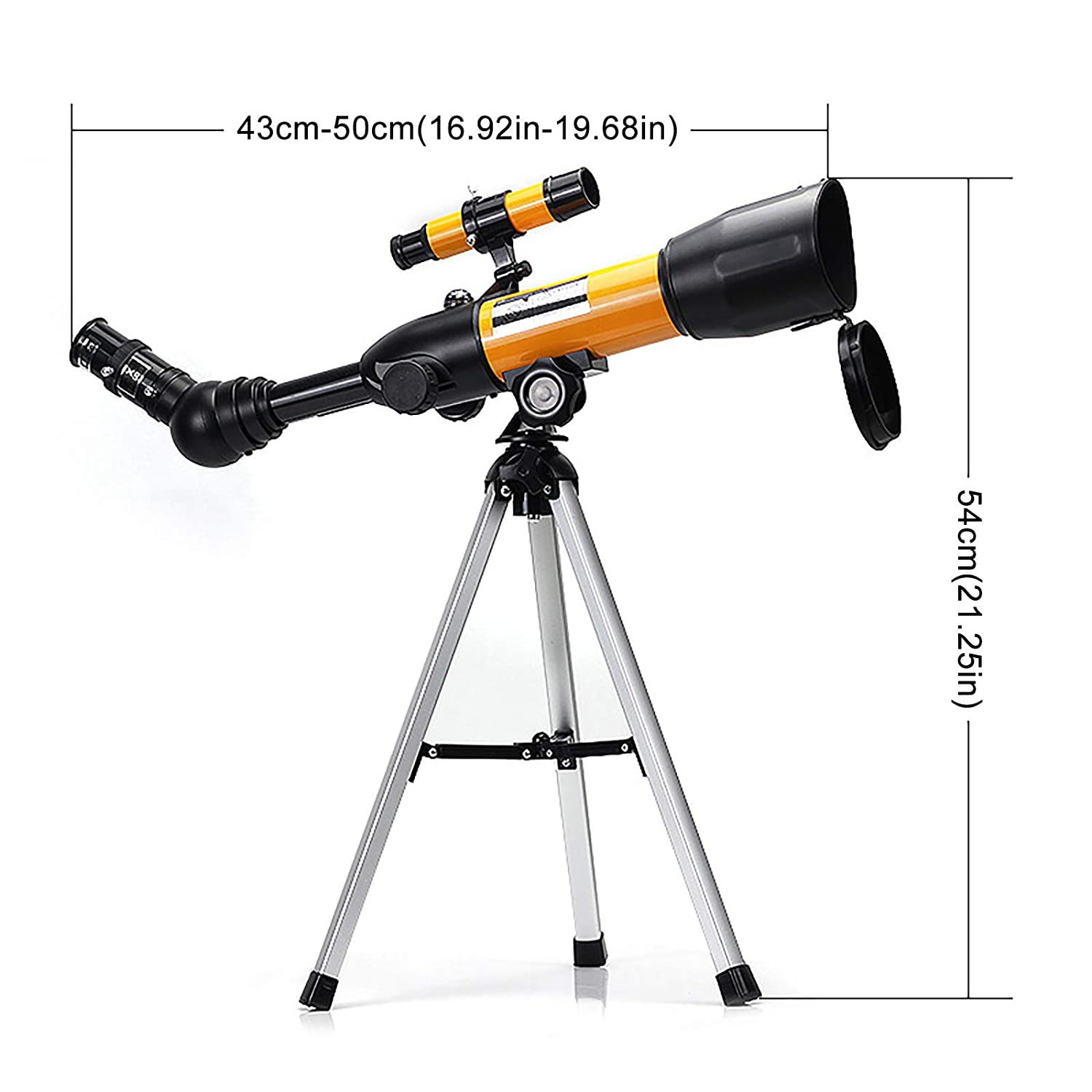 Telescope for Adults /& Kids /& Beginner Aperture Astronomical Telescope Refractor Tripod Finder for Camping and Stargazing in The Wild,Monocular for Stargazing and Planets Astronomy Gifts