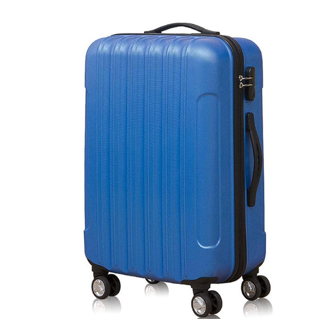 22寸 スーツケース キャリーケース キャリーバッグ 安心1年保証 機内持ち込みサイズから ファスナー 傷が目立ちにくい ハードキャリー 拡張 ジッパー 35cm×27cm×55cm B07JV9V9TP J 22寸