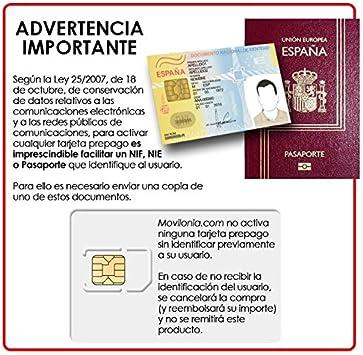 Mit Tarjeta SIM prepago Lebara: Amazon.es: Electrónica