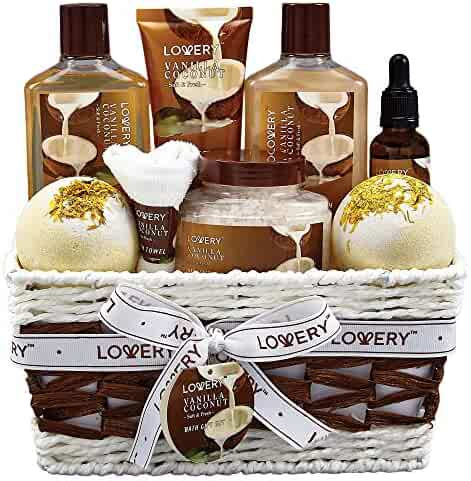 Health & Beauty Home Spa Basket Bath And Body Gift For Women And Men Honey Jasmine Fragrance