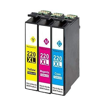Amazon.com: Amsahr E-T2201XL Epson Expression Home T220XL120 ...