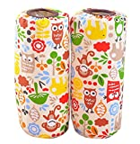 Gentle Meow Cute Children's Cotton Long Waterproof Sleeves, Cartoon Animal Forest