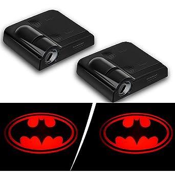 2019 Batman Auto lámpara de cortesía (2 piezas), puerta de coche ...
