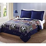 Play Games Full / Queen Quilt with 2 Shams