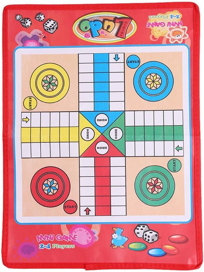 Serpientes portátiles y escaleras rompecabezas plegable serpiente ajedrez juguetes para niños juego preescolar entrenamiento: Amazon.es: Bricolaje y herramientas
