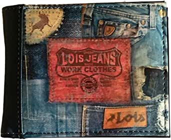 granero Escuela primaria Tratado  Amazon.com: Lois Jeans Work Clothes Wallet: Clothing