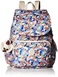 Kipling Women's Ravier Medium Solid Backpack, Funny Fields