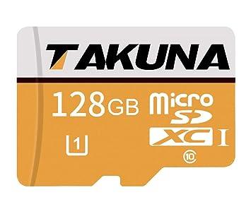 TAKUNA - Tarjeta de Memoria SD SDXC (128 GB, 256 GB, 400 GB, Adaptador de Tarjeta SD)