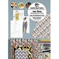 Art Deco fashion & style : Livret de créations en papier : cartes, enveloppes, autocollants, affiches, papiers cadeaux et de créations