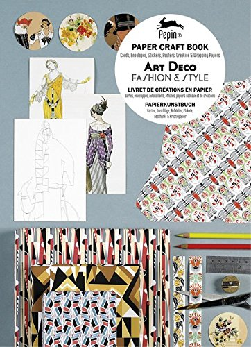 (Pepin Press Pepin Press Art Deco Fashion & Style : Paper Craft Book with Cards Envelopes (94019 ) (English and German Edition))