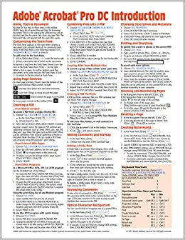 Adobe Acrobat Pro DC Introduction Quick Reference Guide