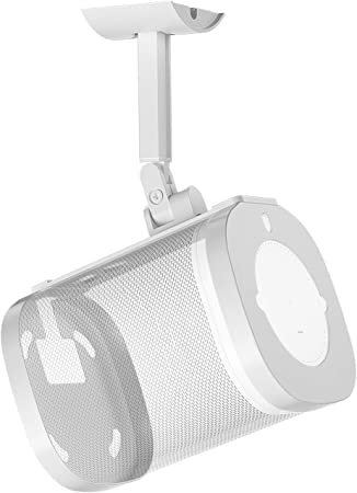 Für Sonos One One Sl Wandhalterung Weiß 180 Verstellbarer Schwenkbare Und Neigbar Deckenhalterung Für Sonos One One Sl Wandhalter Mit Befestigungsmaterial Nicht Kompatibel Mit Sonos Play 1 Audio Hifi