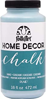 product image for FolkArt 34843 Home Decor Chalk Furniture & Craft Paint in Assorted Colors, 16 ounce, Cascade