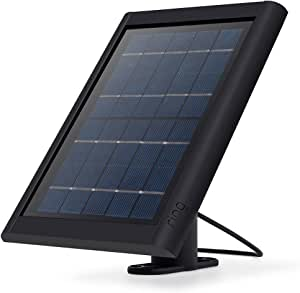 Ring Solar Panel for Spotlight Cam Battery - Black