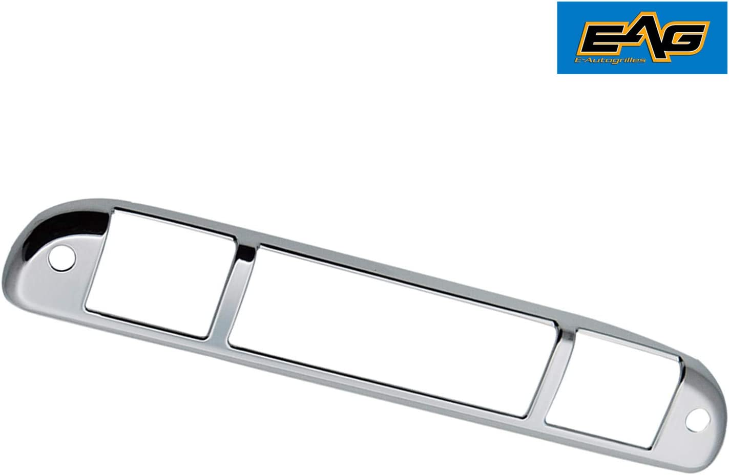 Triple Chrome Plated Third Brake Light Taillight Cover for 99-15 Ford F250 F350