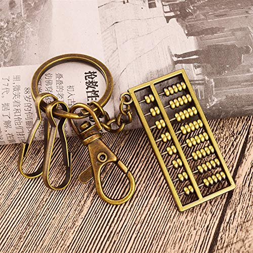 Dalino Fashion and Personality Abacus Pendant Metal for sale  Delivered anywhere in USA