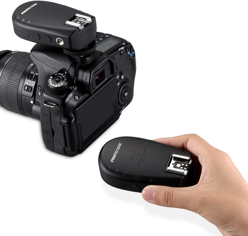 Photoolex WFC-05 1/8000s 2.4G Wireless Flash Trigger Manual and ...