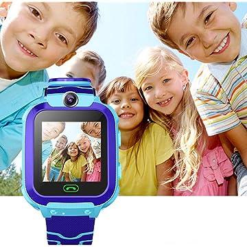 erholi Children Smart Watch SOS Call Location Tracker Student Two-Way Voice Wristwatch Smart Watches
