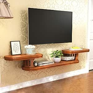 Mueble de TV Montado en la Pared Estante Flotante Estante de Pared ...
