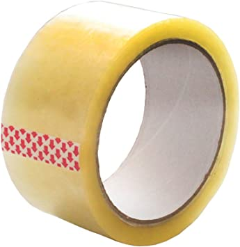 """20 ROLLS Box Sealing Packaging Packing Carton Shipping Tape 2.0 mil 2/"""" x 55 yard"""