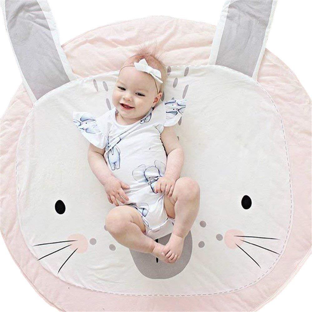買取り実績  Abreeze 子供用ティピーマット グレー 滑り止め プレイマット ベビークロールマット 滑り止め Rabbit-pink B07FJNWT7N Rabbit-pink B07FJNWT7N Rabbit-pink, まごころギフトたばき:2cfe5eb6 --- svecha37.ru