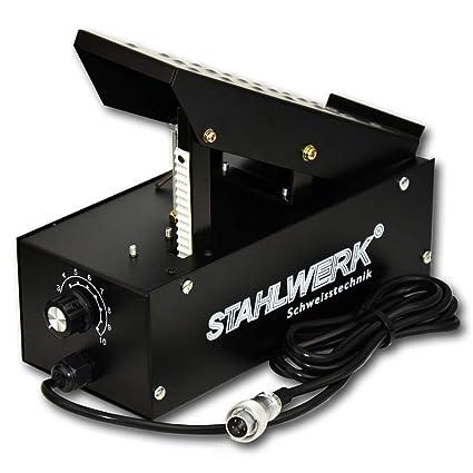 STAHLWERK WIG Pedal de pedal control remoto para soldador WIG, regulación de corriente de soldadura