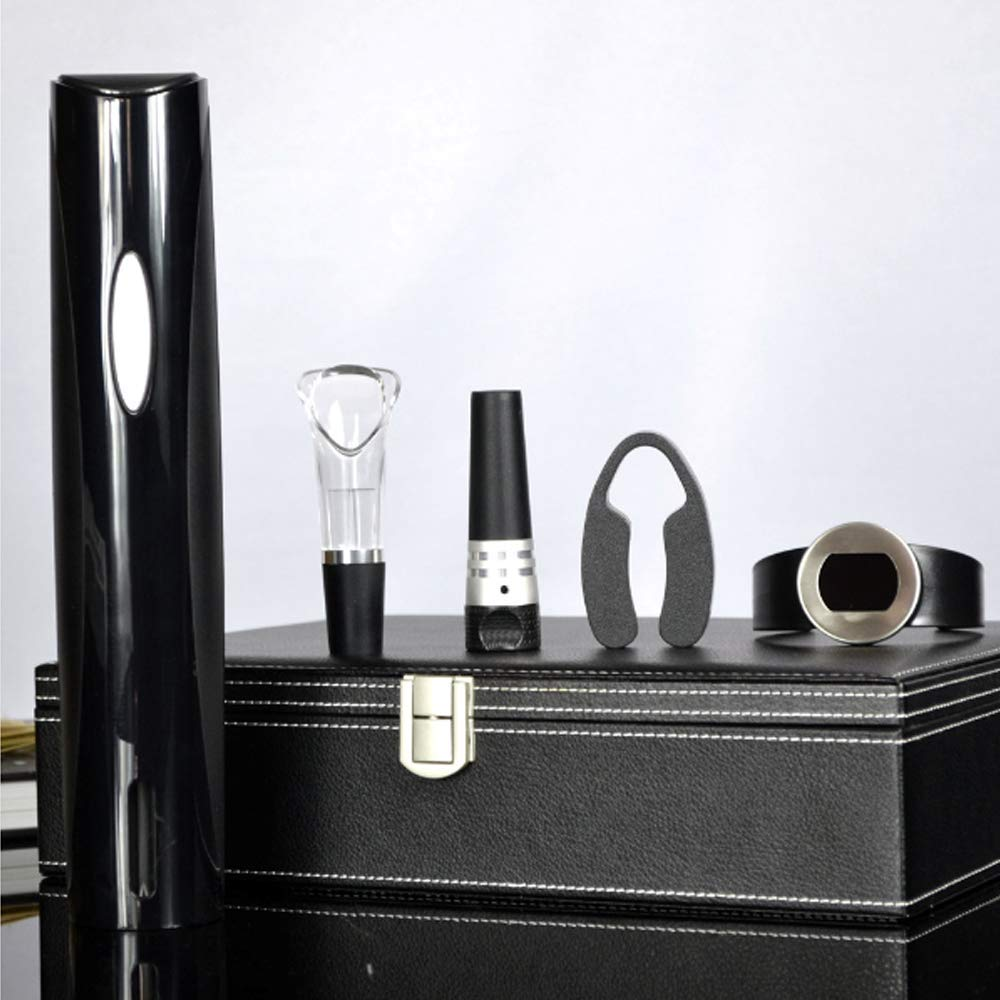 Electric Bottle Opener, Stainless Steel Food Grade Silicone Battery, Suitable for Home, Office, Outdoor