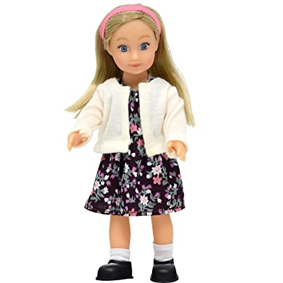 Mini Doll Kaylee - 6.5 Inch Vinyl Posable Doll: Toys & Games