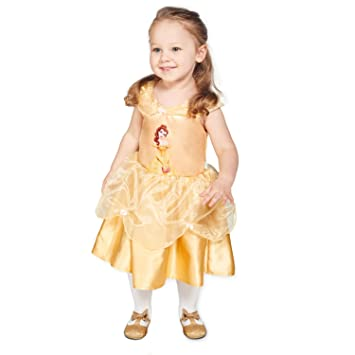 Disney Princesas Disfraz bebé, Color amarillo, 12-18 Meses (Travis ...