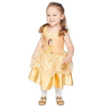 43b8c496c2272 Official Disney Baby Belle Princess Fairytale Dresses Fancy Dress Childrens  Costumes