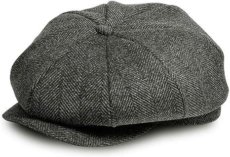 AYAMAYA Newsboy Gorra Gatsby Baker Boy Gorra Plana de Tweed ...