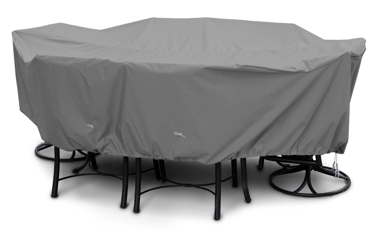 KOVERROOS Large High Back Dining Set Cover