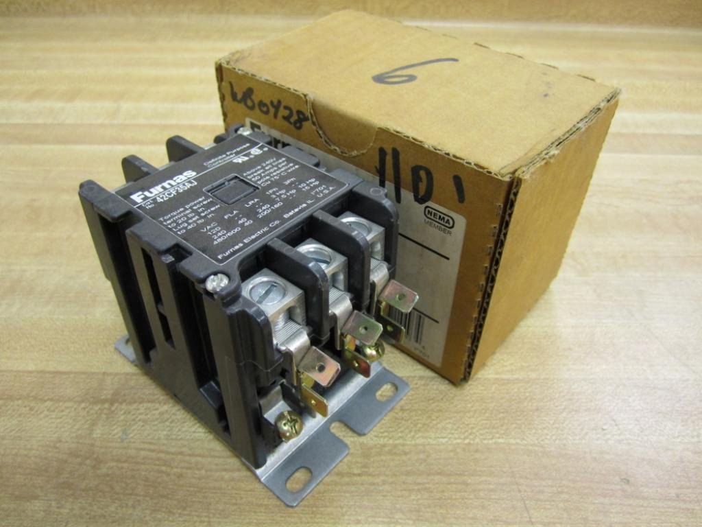 61rfcwmR0aL._SL1024_ mars 61445 (direct replacement of furnas 42cf35aj) contactor 3 Cutler Hammer Contactors at mifinder.co