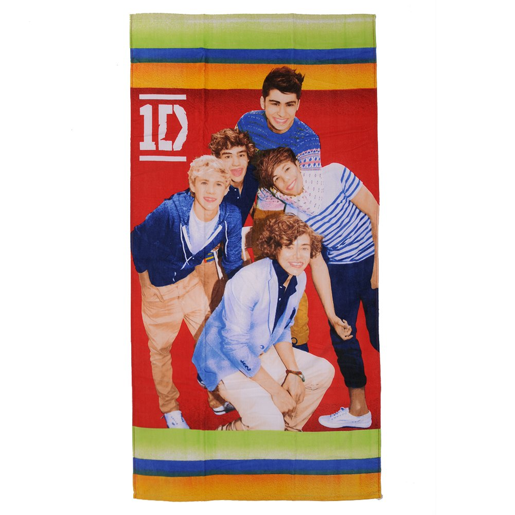 One Direction Full Band Large Beach Towel Headlock