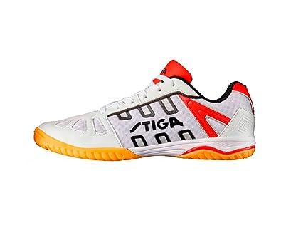 Fantastic Stiga Mens Table Tennis Shoes White White Red White Size 3 Interior Design Ideas Oteneahmetsinanyavuzinfo