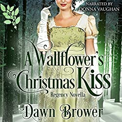 A Wallflower's Christmas Kiss