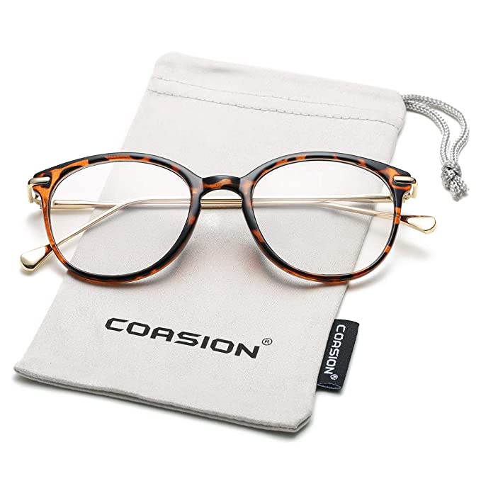 Men/'s or Women VINTAGE Style Clear Lens EYE GLASSES Small Tortoise Fashion Frame