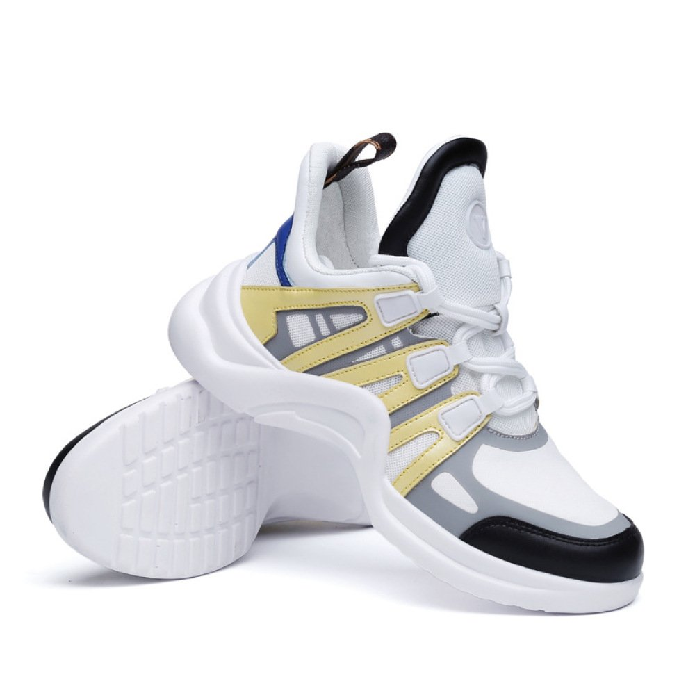 SBL Schuhe der Frauen der Herbstfrauen Super Beschuht Damensportschuhe Art Breathable weiße Schuhe der Art Damensportschuhe und Weise,Gelb,35 - c90bae