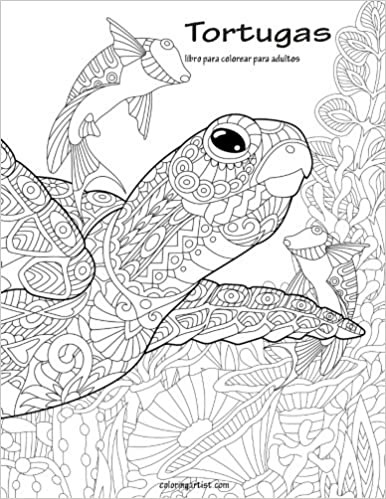 Amazon.com: Tortugas libro para colorear para adultos 1 (Volume 1 ...