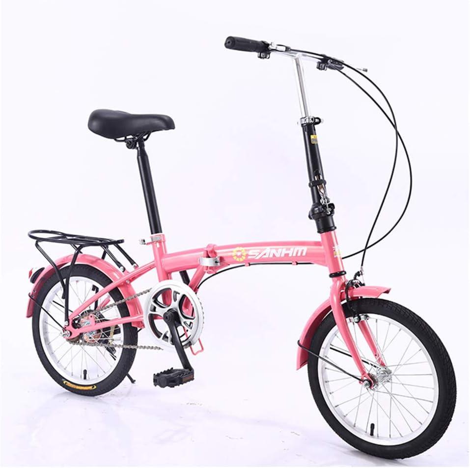 KXDLR 16 Pulgadas De Bicicletas Plegables, con Guardabarros ...