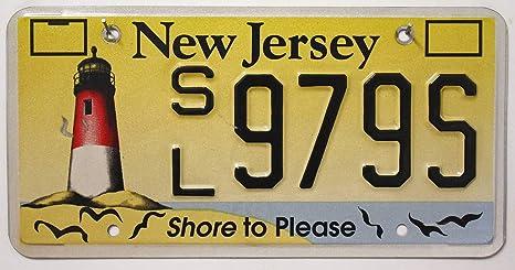 Us Nummernschild New Jersey Kennzeichen Usa License Plate Autoschild Küche Haushalt